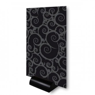 Chevalet de table sur socle PVC noir - Devis sur Techni-Contact.com - 1