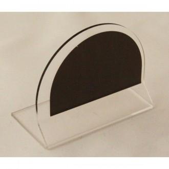 Chevalet de table transparent neutre - Devis sur Techni-Contact.com - 1