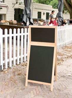 Chevalet de trottoir ardoise en bois - Devis sur Techni-Contact.com - 5