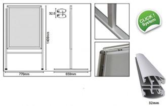 Chevalet de trottoir basculant - Devis sur Techni-Contact.com - 2