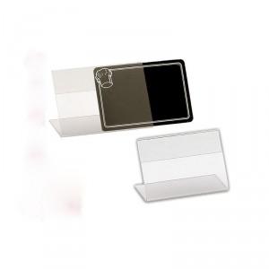 Chevalet horizontal transparent pour étiquettes - Devis sur Techni-Contact.com - 2