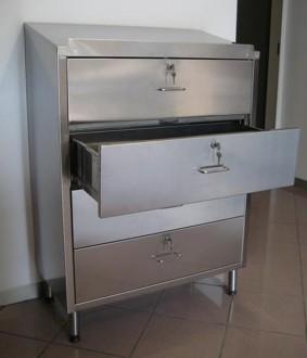 Chiffonnier d'atelier 4 tiroirs coulissants - Devis sur Techni-Contact.com - 2