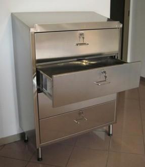 Chiffonnier d'atelier 4 tiroirs coulissants - Devis sur Techni-Contact.com - 3