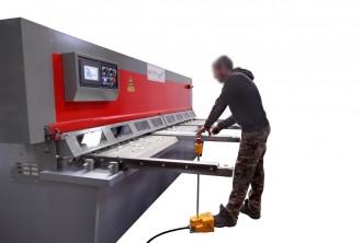 Cisaille hydraulique pour tôle métallique - Devis sur Techni-Contact.com - 4
