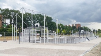 City stade multisports - Devis sur Techni-Contact.com - 2