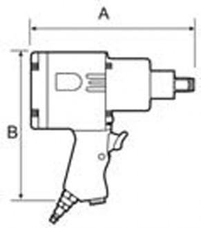 Clé à chocs à air - Devis sur Techni-Contact.com - 2