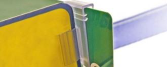 Clip porte étiquette - Devis sur Techni-Contact.com - 1