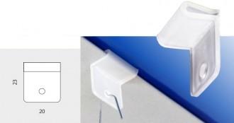 Clip vertical pour affichage suspendu - Devis sur Techni-Contact.com - 1