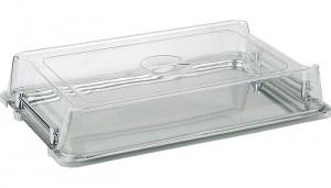 Cloche empilable seule GN 1/1 en plastique transparent - Devis sur Techni-Contact.com - 1