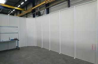 Cloison d'atelier acier - Devis sur Techni-Contact.com - 2
