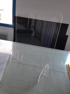 Cloison de protection de 110 x 74 cm anti covid-19 - Devis sur Techni-Contact.com - 2