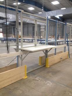 Cloison grillagée industrielle protection machine - Devis sur Techni-Contact.com - 3