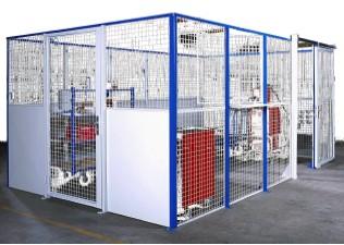 Cloison industrielle semi-grillagée - Devis sur Techni-Contact.com - 1