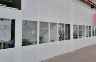 Cloison mélaminée avec plafond - Devis sur Techni-Contact.com - 1