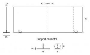 Cloison protection bureau plexi - Devis sur Techni-Contact.com - 4