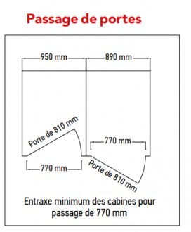 Cloison sanitaire stratifié massif - Devis sur Techni-Contact.com - 4