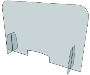 Cloison séparation de bureau plexi - Devis sur Techni-Contact.com - 6