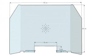 Cloison plexi anti-contamination - Devis sur Techni-Contact.com - 3