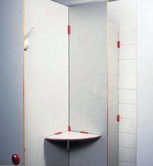 Cloisonnette de déshabillage pour douche - Devis sur Techni-Contact.com - 1