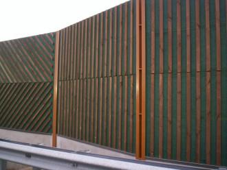 Clôture bois antibruit - Devis sur Techni-Contact.com - 1