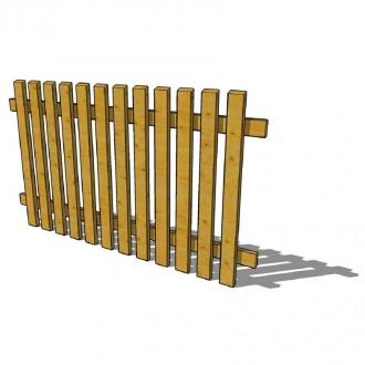 Clôture bois en pin traité - Devis sur Techni-Contact.com - 4