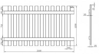 Clôture bois en pin traité - Devis sur Techni-Contact.com - 5