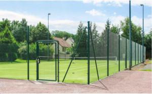 Clôture pour terrain de tennis - Devis sur Techni-Contact.com - 1