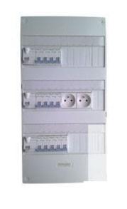 Coffret 3 rangées pré équipé et pré câblé - Devis sur Techni-Contact.com - 1