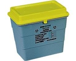 Collecteur d'aiguille usagé Sharpsafe 11 litres - Devis sur Techni-Contact.com - 1