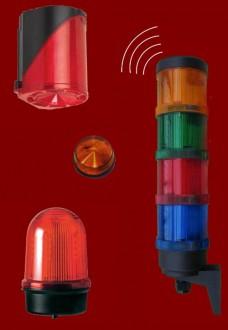 Colonne de signalisation lumineuse industrielle - Devis sur Techni-Contact.com - 2