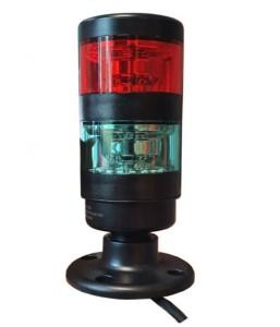Colonne de signalisation lumineuse Led rouge/vert - Devis sur Techni-Contact.com - 3