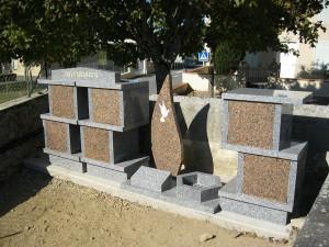 Columbarium en forme de colonnes avec jardin du souvenir - Devis sur Techni-Contact.com - 7
