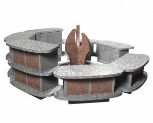Columbarium en forme de corolles - Devis sur Techni-Contact.com - 4