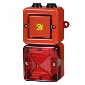 Combiné 100dB feu flash 5J  - Devis sur Techni-Contact.com - 1