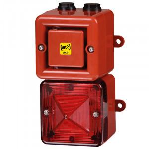 Combiné 104dB feu flash    - Devis sur Techni-Contact.com - 1