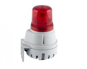 Combiné buzzer 100dB feu LED IP65  - Devis sur Techni-Contact.com - 1