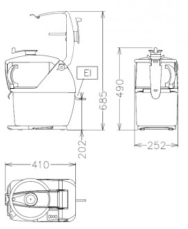 Combiné cutter et coupe légumes 5.5 Litres - Devis sur Techni-Contact.com - 2