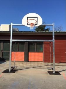 Combiné mini hand/basket avec cage - Devis sur Techni-Contact.com - 1