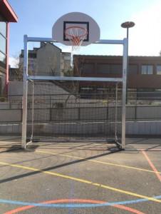 Combiné mini hand/basket avec cage - Devis sur Techni-Contact.com - 3