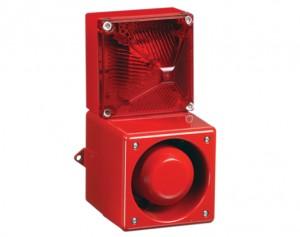 Combiné sirène 108dB feu flash 13J  - Devis sur Techni-Contact.com - 1