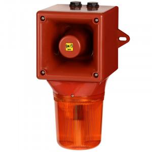 Combiné sirène 112dB feu flash 5J  - Devis sur Techni-Contact.com - 1