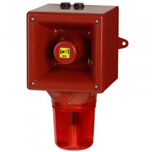 Combiné sirène 119dB feu flash 5J   - Devis sur Techni-Contact.com - 1