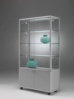 Commerce vitrine classique en verre - Devis sur Techni-Contact.com - 1