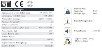 Compacteur à carton - Devis sur Techni-Contact.com - 3
