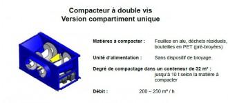 Compacteur à vis emballage plastique - Devis sur Techni-Contact.com - 4