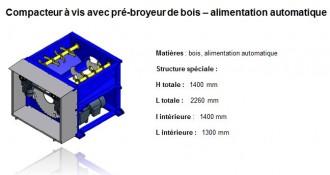 Compacteur bois et palettes bois - Devis sur Techni-Contact.com - 4