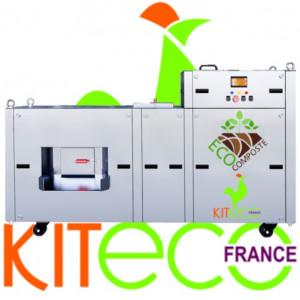 Convertisseur automatique de déchets alimentaires INOX - Devis sur Techni-Contact.com - 1