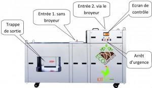 Convertisseur automatique de déchets alimentaires INOX - Devis sur Techni-Contact.com - 2