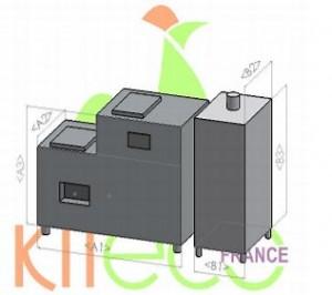 Convertisseur automatique de déchets alimentaires INOX - Devis sur Techni-Contact.com - 3