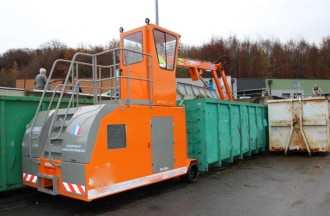 Compacteur déchets à rouleau - Devis sur Techni-Contact.com - 1